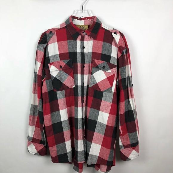 Other - Raider Jean | Men's Plaid Shirt | L